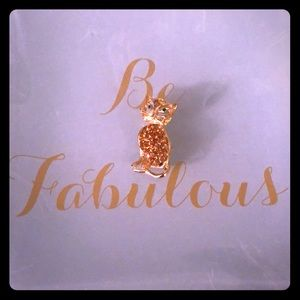 Jewelry - 24kt Gold Cat Pendant